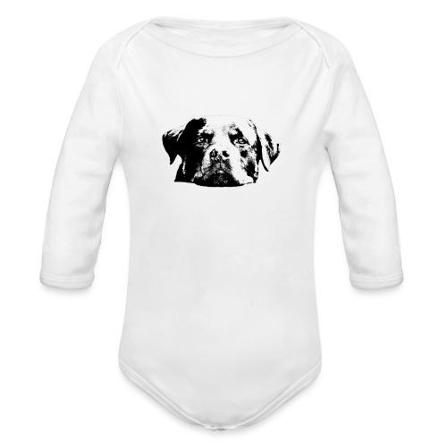 Rottweiler - Baby Bio-Langarm-Body