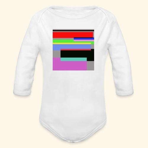 Artistico27 - Body ecologico per neonato a manica lunga
