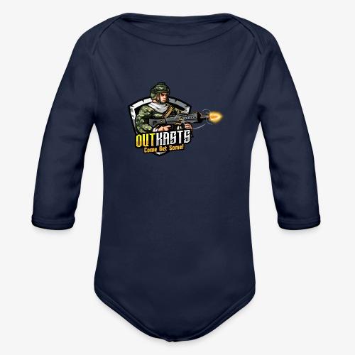 OutKasts [OKT] Logo 2 - Organic Longsleeve Baby Bodysuit