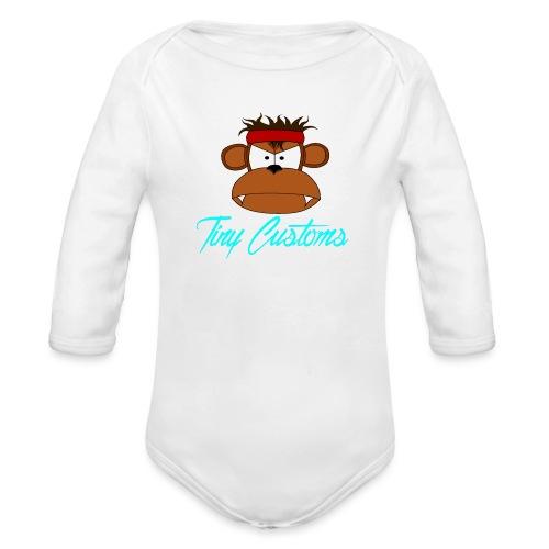Tiny Customs - Ekologisk långärmad babybody