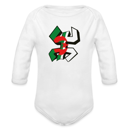 algérien - Body Bébé bio manches longues