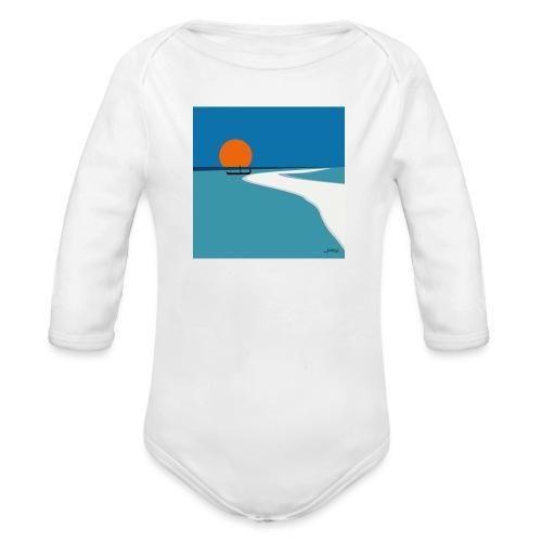 Polynesia - Organic Longsleeve Baby Bodysuit