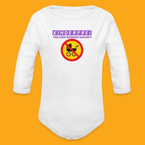 Kinderfrei - Baby Bio-Langarm-Body