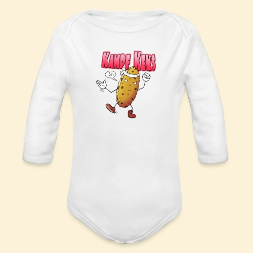 Kampf Keks - Baby Bio-Langarm-Body