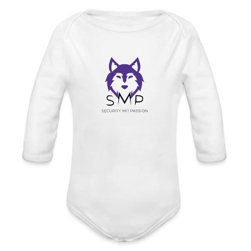 Security mit Passion Merchandise - Baby Bio-Langarm-Body