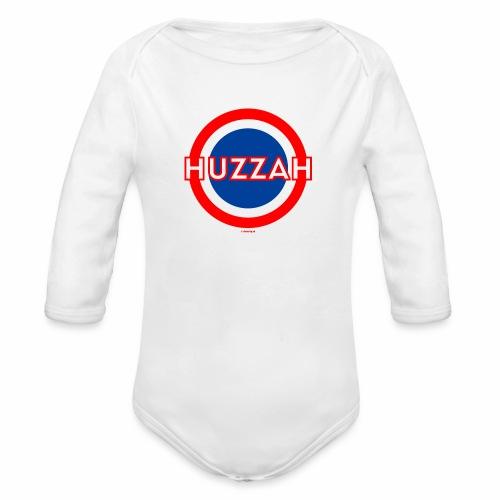 Huzzah - Baby bio-rompertje met lange mouwen
