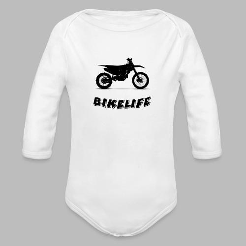 Bikelife - Ekologisk långärmad babybody