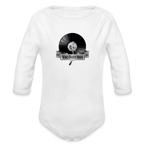 Badge - Organic Longsleeve Baby Bodysuit