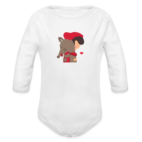 Abbracciccio-02 - Body ecologico per neonato a manica lunga