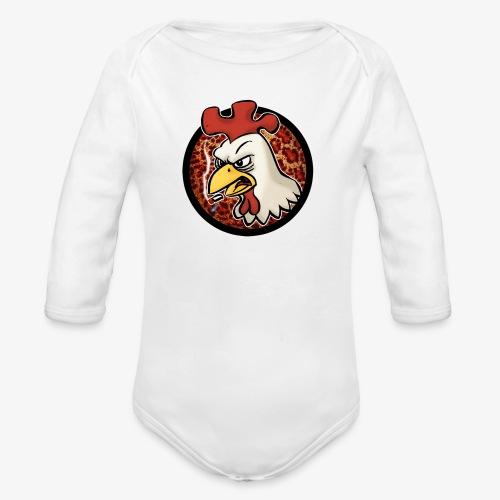 Smokin' Cock - Ekologisk långärmad babybody