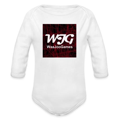 T-shirt WJG logo - Baby bio-rompertje met lange mouwen