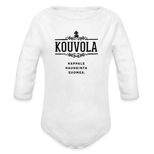 Kouvola - Kappale kauheinta Suomea. - Vauvan pitkähihainen luomu-body