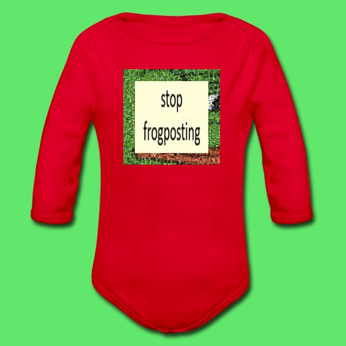 Frogposter - Organic Longsleeve Baby Bodysuit