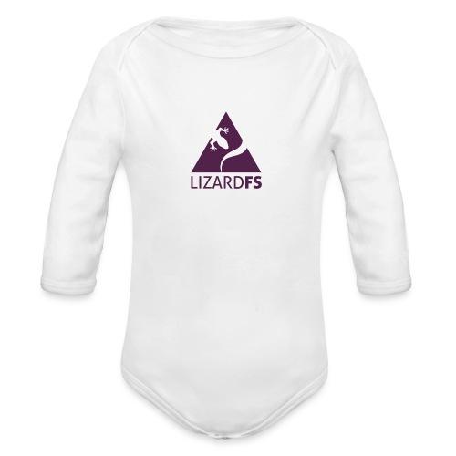 logo lizardFS - Organic Longsleeve Baby Bodysuit