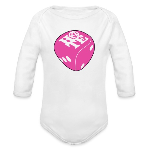 Pink - Organic Longsleeve Baby Bodysuit