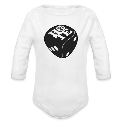 Black - Organic Longsleeve Baby Bodysuit