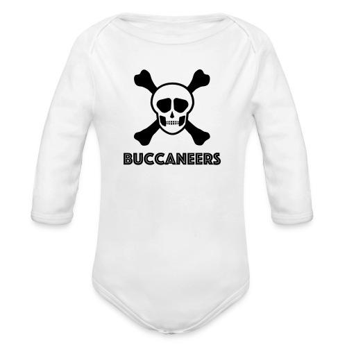 Buccs1 - Organic Longsleeve Baby Bodysuit