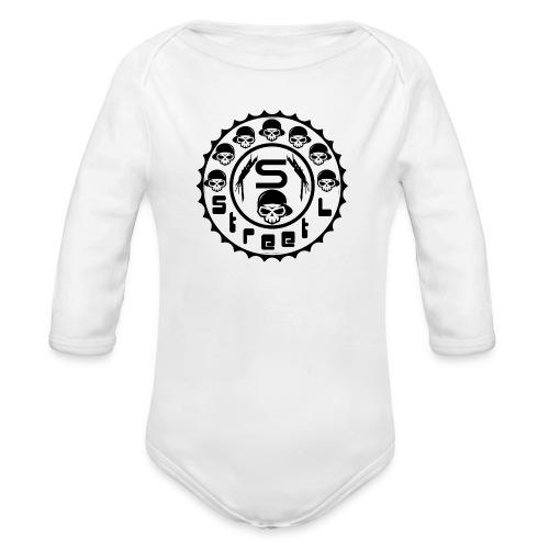 rawstyles rap hip hop logo money design by mrv - Ekologiczne body niemowlęce z długim rękawem