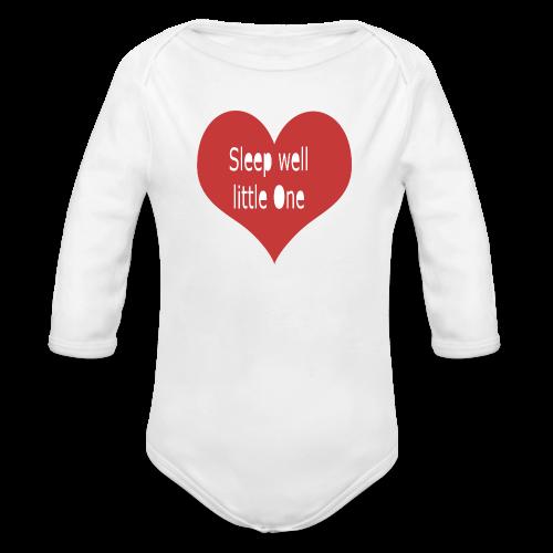 sleep well - Baby Bio-Langarm-Body