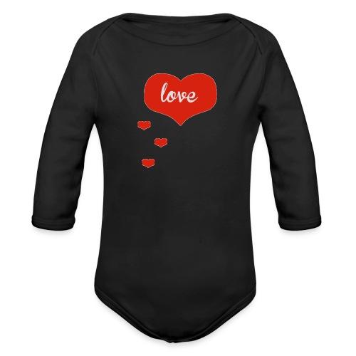 baby boo design - Organic Longsleeve Baby Bodysuit