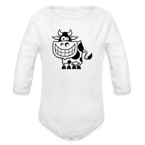 vl094a_kuh_1c - Baby Bio-Langarm-Body