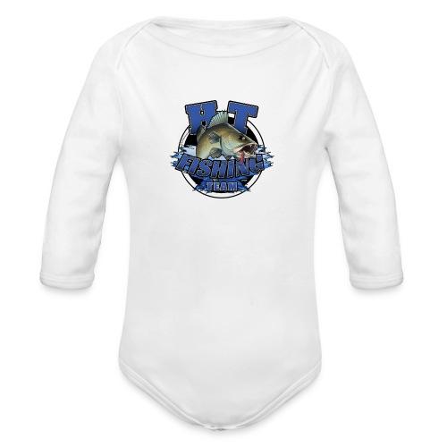 HT Fishing Team - Vauvan pitkähihainen luomu-body