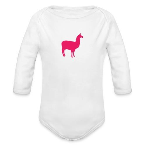 Lama - Baby bio-rompertje met lange mouwen
