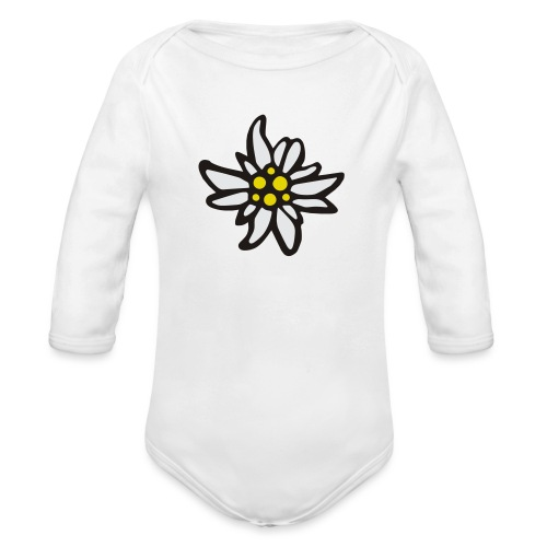 Edelweiss - Baby Bio-Langarm-Body