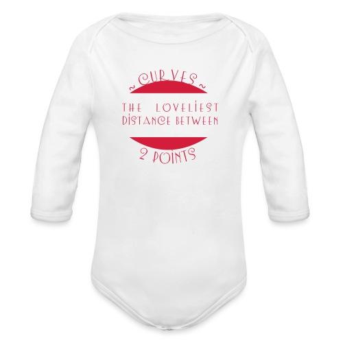 Curves - Vauvan pitkähihainen luomu-body