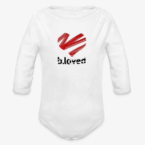 b-loved - Ekologiczne body niemowlęce z długim rękawem