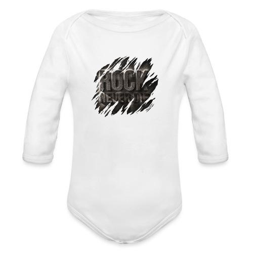 ROCK - Body ecologico per neonato a manica lunga