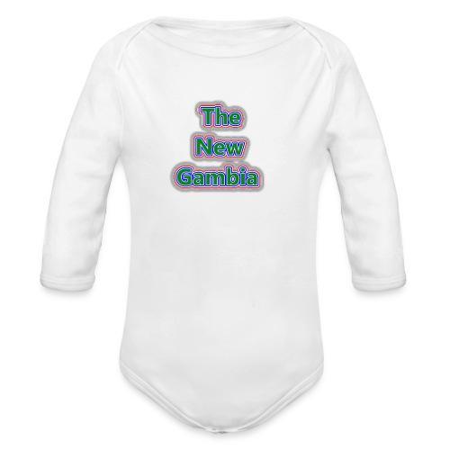 The Nwe Gambia - Organic Longsleeve Baby Bodysuit