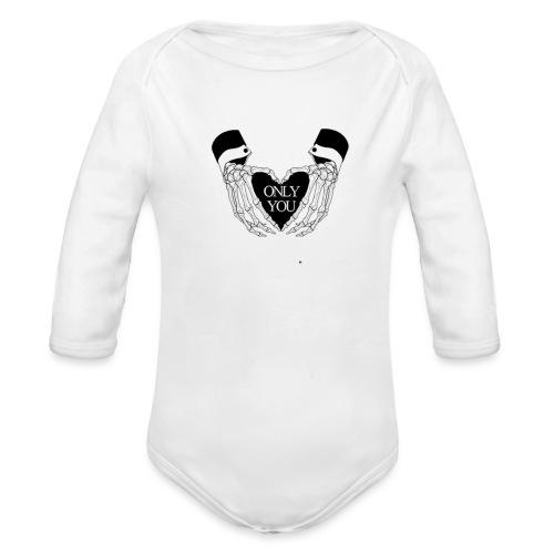 only you - Body ecologico per neonato a manica lunga