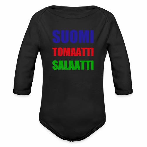 SUOMI SALAATTI tomater - Økologisk langermet baby-body