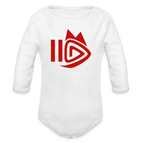 HitFuchs.FM logo - Organic Longsleeve Baby Bodysuit