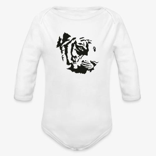 Tiger head - Body Bébé bio manches longues
