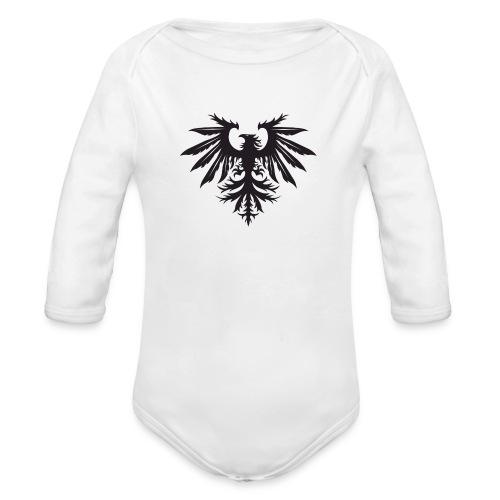 NEW Bird Logo Small - Organic Longsleeve Baby Bodysuit