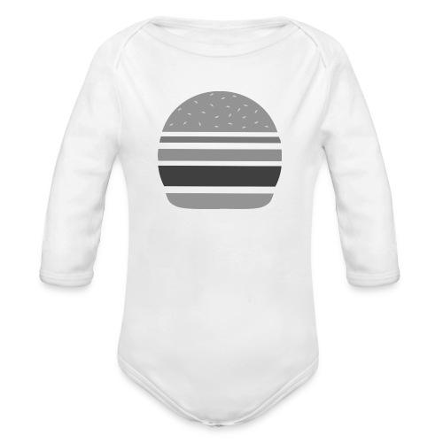 Logo_panhamburger_gris - Body Bébé bio manches longues