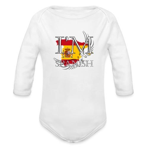 I am Spanish - Body ecologico per neonato a manica lunga