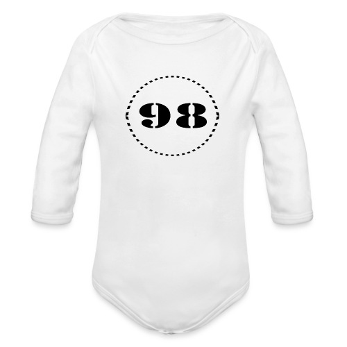 98 - Ekologisk långärmad babybody