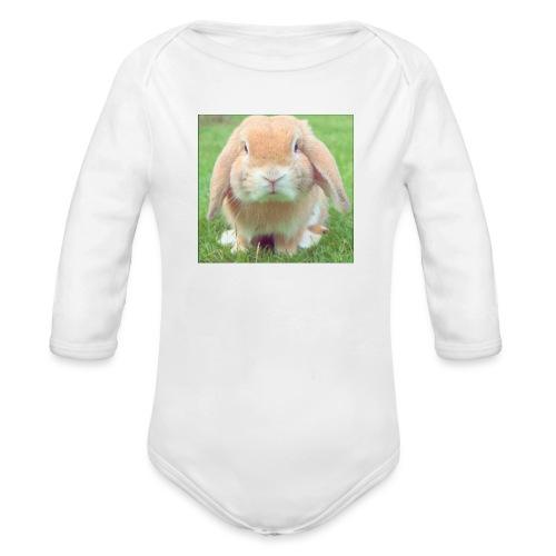 Bunny: Phone Case - Organic Longsleeve Baby Bodysuit