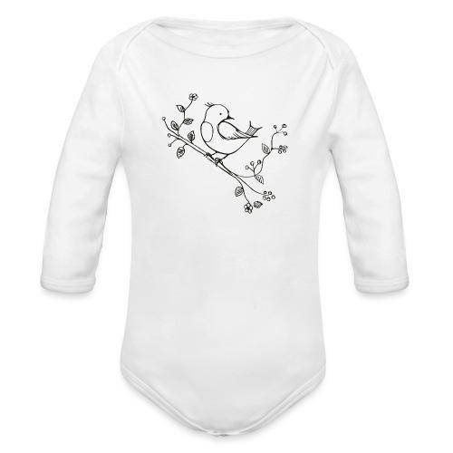 little Robin - Baby Bio-Langarm-Body