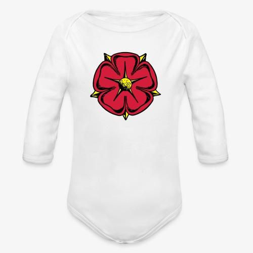 Lippische Rose - Baby Bio-Langarm-Body