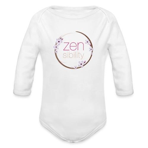 zensibility - Baby Bio-Langarm-Body