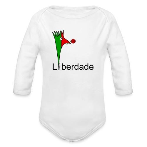 Galoloco - Liberdaded - 25 Abril - Body Bébé bio manches longues