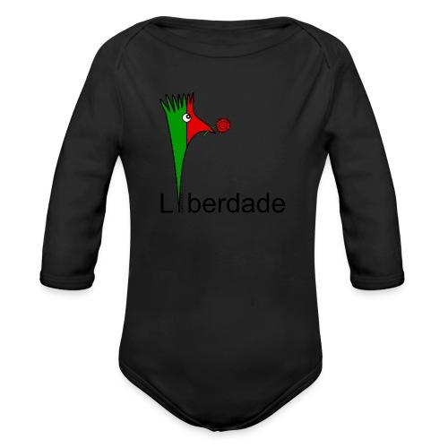 Galoloco - Liberdaded - 25 Abril - Organic Longsleeve Baby Bodysuit