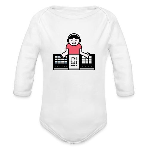 Ableto DJ - Baby bio-rompertje met lange mouwen