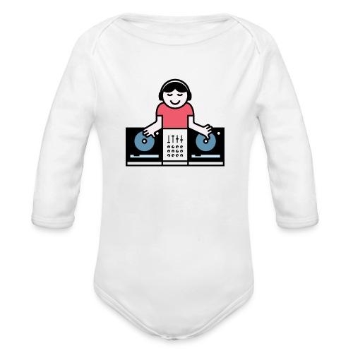 CDJ DJ - Baby bio-rompertje met lange mouwen