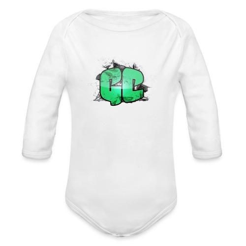 Hunde Tørlæde - GC Logo - Langærmet babybody, økologisk bomuld