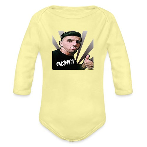 Enomis t-shirt project - Organic Longsleeve Baby Bodysuit